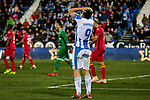 CD Leganes' Guido Marcelo Carrillo during La Liga match between CD Leganes and Getafe CF at Butarque Stadium in Leganes, Spain. December 07, 2018. (ALTERPHOTOS/A. Perez Meca)