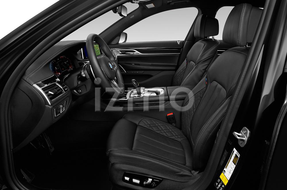 Front seat view of 2020 BMW 7-Series M-Sport 4 Door Sedan Front Seat  car photos