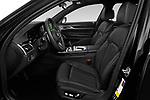 Front seat view of 2020 BMW 7-Series M-Sport 4 Door Sedan Front Seat  car photos