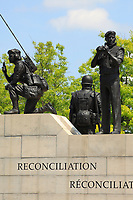 Ottawa (ON) CANADA - June 17 2012 - Canada's capital Ottawa - <br /> War monument