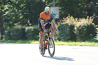 Jens Raab (KCR Sindlingen) auf dem Rad - Mörfelden-Walldorf 18.07.2021: MoeWathlon