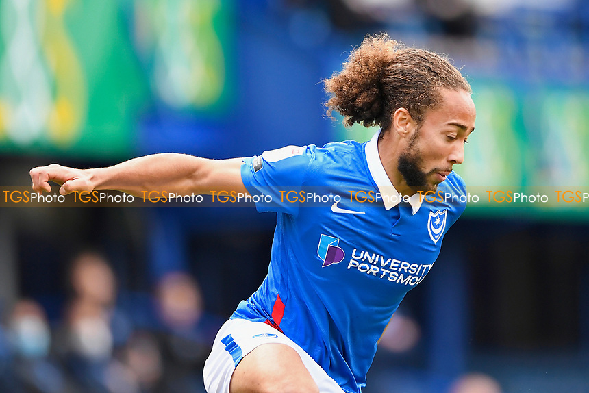 Marcus Harness of Portsmouth during Portsmouth vs Doncaster Rovers, Sky Bet EFL League 1 Football at Fratton Park on 17th October 2020