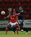 Anthony Grant of Crewe holds off Michael Doughty of Stevenage (on loan from QPR) and Greg Tansey<br />  - Crewe Alexandra v Stevenage - Sky Bet League One - Alexandra Stadium, Gresty Road, Crewe - 22nd October 2013. <br /> © Kevin Coleman 2013<br />  <br />  <br />  <br />  <br />  <br />  <br />  <br />  <br />  <br />  <br />  <br />  <br />  <br />  <br />  <br />  <br />  <br />  <br />  <br />  <br />  <br />  <br />  <br />  <br />  <br />  <br />  <br />  <br />  <br />  <br />  <br />  <br />  <br />  <br />  <br />  - Crewe Alexandra v Stevenage - Sky Bet League One - Alexandra Stadium, Gresty Road, Crewe - 22nd October 2013. <br /> © Kevin Coleman 2013