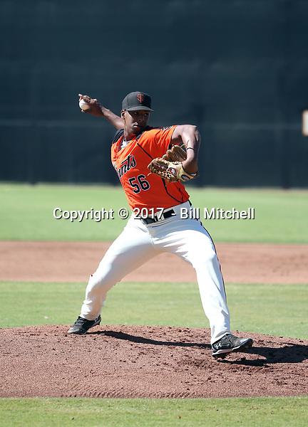 Abel Adames - 2017 AIL Giants (Bill Mitchell)