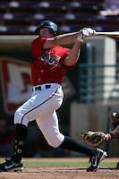 September 1 2008: Brian Joynt of the Lake Elsinore Storm during game against the High Desert Mavericks at The Diamond in Lake Elsinore,CA.  Photo by Larry Goren/Four Seam Images