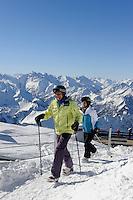 Gipfel des Nebelhorn bei  Oberstdorf im Allgäu, Bayern, Deutschland<br /> summit of  Mt.Nebelhorn near Oberstdorf, Allgäu, Bavaria, Germany
