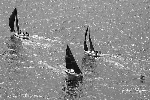 Class One racing at the 2021 Sovereign's Cup off Kinsale