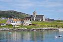 Iona Abbey, Iona, Isle of Mull, Scotland, UK.