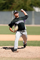 Paul Bargas - Colorado Rockies, 2009 Instructional League.Photo by:  Bill Mitchell/Four Seam Images..
