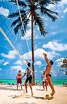 Dominikanische Republik, Punta Cana, Beachvolleyball | Dominican Republic, Punta Cana, beach volleyball
