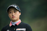 Han Sol Ji of South Korea tees off at the 15th hole during Round 3 of the World Ladies Championship 2016 on 12 March 2016 at Mission Hills Olazabal Golf Course in Dongguan, China. Photo by Victor Fraile / Power Sport Images