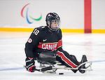 Ben Delaney, Sochi 2014 - Para Ice Hockey // Para-hockey sur glace.<br /> Team Canada takes on Norway in Para Ice Hockey // Équipe Canada affronte Norvège en para-hockey sur glace. 09/03/2014.