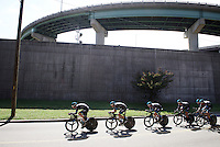 Team SKY (UK) on course<br /> <br /> Elite Men's Team Time Trial<br /> UCI Road World Championships Richmond 2015 / USA