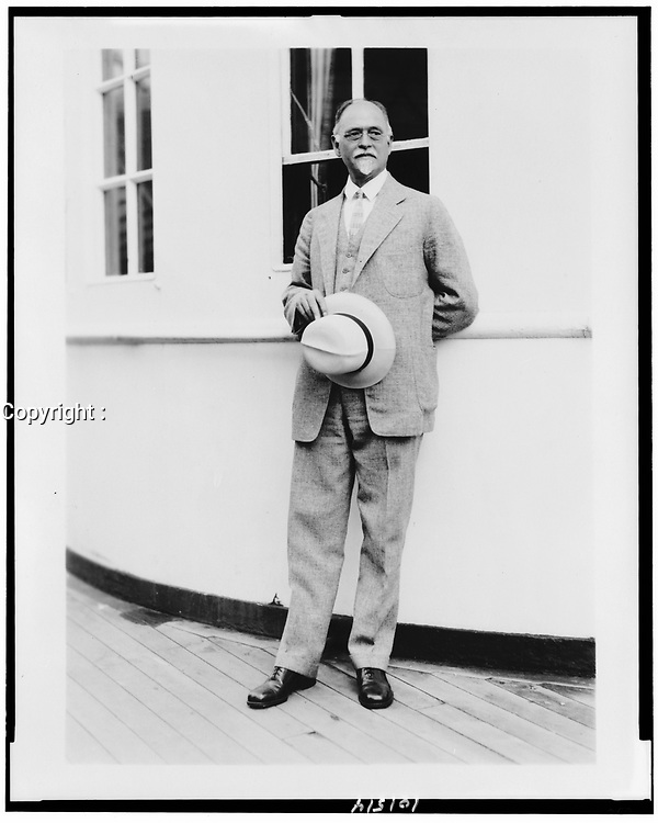 Prof. Irving Fisher of Yale,1927.