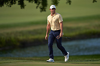 29th August 2020, Olympia Fields, Illinois, USA;  Rory McIlroy of Northern Ireland prepares to putt on the 18th green during the third round of the BMW Championship on the North Course at Olympia Fields Country Club