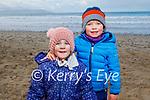 Tom and Leia Dillon enjoying Banna Beach on Friday.