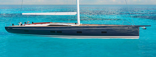 The 72-footer will be the result of a completely new and 'Made in Italy' design process