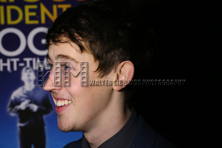Alex Sharp attends the Broadway Opening Night Performance After Party for 'The Curious Incident of the Dog in the Night-Time'  at Urbo on October 5, 2014 in New York City.