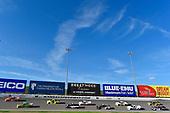 #19: Derek Kraus, McAnally Hilgemann Racing, ENEOS Toyota Tundra, #40: Ross Chastain, Niece Motorsports, Trophy Tractor Chevrolet Silverado, #88: Matt Crafton, ThorSport Racing, Ideal Door/Menards Ford F-150, #15: Tanner Gray, DGR-Crosley, Ford/Ford Performance Ford F-150