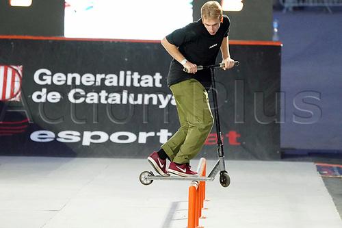 8th November 2020; Parc del Forum, Barcelona, Catalonia, Spain; Imagin Extreme Barcelona;  Olaz Zolna (POL) during Scooter mens street semifinal