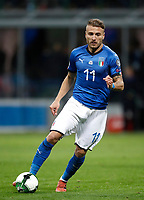 Soccer Football - 2018 World Cup Qualifications - Europe - Italy vs Sweden - San Siro, Milan, Italy - November 13, 2017 <br /> Italy's Ciro Immobile in action during the FIFA World Cup 2018 qualification football match between Italy and Sweden at the San Siro Stadium in Milan on November 13, 2017.<br /> UPDATE IMAGES PRESS/Isabella Bonotto