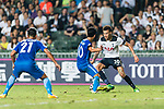 Tottenham Hotspur Midfielder Dele Alli (R) dribles SC Kitchee Midfielder Ka Wai Lam (L) during the Friendly match between Kitchee SC and Tottenham Hotspur FC at Hong Kong Stadium on May 26, 2017 in So Kon Po, Hong Kong. Photo by Man yuen Li  / Power Sport Images
