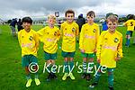 Killarney Celtic U12's attending the soccer blitz in the Park on Saturday, l to r: Sean Collins, Dara Horan, Conor O'Sullivan, Ryan Downey and Lochlan Scannell.