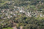 Mokelumne Hill, California from the air