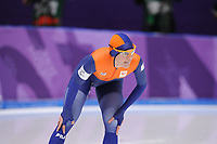OLYMPIC GAMES: PYEONGCHANG: 12-02-2018, Gangneung Oval, Long Track, 1500m Ladies, Marrit Leenstra (NED), ©photo Martin de Jong
