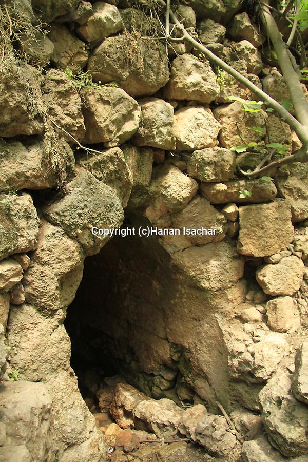 Israel, Ein Tanur in Jerusalem mountains