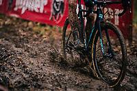 mudsplash!<br /> <br /> Men's race<br /> Superprestige Asper-Gavere 2018 (BEL)