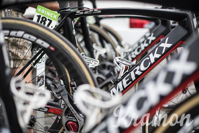 Eddy Merckx bikes of Team Sport Vlaanderen Baloise <br /> <br /> Binckbank Tour 2017 (UCI World Tour)<br /> Stage 7: Essen (BE) > Geraardsbergen (BE) 191km
