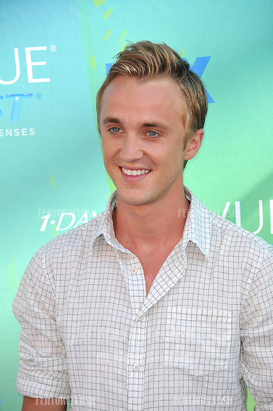 Tom Felton arrives at the 2011 Teen Choice Awards at the Gibson Amphitheatre, Universal Studios, Hollywood..August 7, 2011  Los Angeles, CA.Picture: Paul Smith / Featureflash