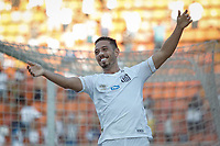 SÃO PAULO, SP 09.02.2019: SANTOS-MIRASSOL - Jean Mota comemora gol. Santos e Mirassol em jogo válido pela sexta rodada do campeonato Paulista 2019, no Pacaembu zona oeste da capital. (Foto: Ale Frata/Codigo19)