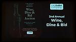 Wine, Dine & Bid