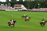 Cartier International Polo at the Guards Club, Smiths Lawn, Windsor Great park, Egham, Surrey, England  The club house.