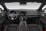 Stock photo of straight dashboard view of 2021 Renault Talisman-Grandtour Initiale-Paris 5 Door Wagon Dashboard