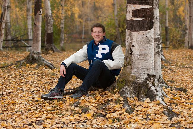 Tom Merritt of Palmer High School at Mirror Lake.