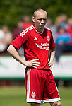 Aberdeen v St Johnstone...28.06.15  Glebe Park, Brechin..Pre-Season Friendly<br /> Willo Flood<br /> Picture by Graeme Hart.<br /> Copyright Perthshire Picture Agency<br /> Tel: 01738 623350  Mobile: 07990 594431