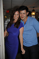 Melissa Archer & Christopher Sean both from Days  donated their time to Southwest Florida 16th Ann=he Arts for Kids and children with special needs and ITC - Island Theatre Co. as it presented A Night of Stars on May 23 , 2015 at Bistro Soleil, Marco Island, Florida. (Photos by Sue Coflin/Max Photos)