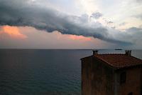 - the sea seen from village of Tellaro....- il mare visto dal  paese di Tellaro