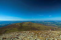 Creagan Gorm and Craiggowrie from the summit of Meall a Bhuachaille, Aviemore, Cairngorm National Park, Highland