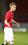 St Johnstone Academy v Manchester United Academy....17.04.15   <br /> Max Dunne<br /> Picture by Graeme Hart.<br /> Copyright Perthshire Picture Agency<br /> Tel: 01738 623350  Mobile: 07990 594431
