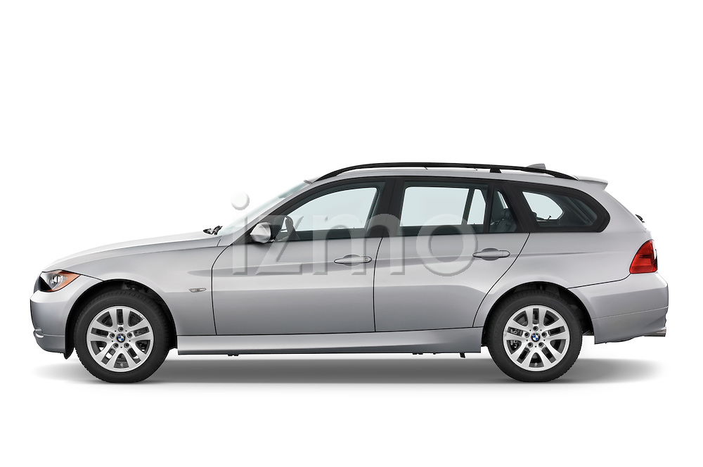 Driver side profile view of a 2005 - 2008 BMW 3-Series 328i Wagon.