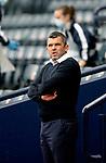 St Mirren v St Johnstone…09.05.21  Scottish Cup Semi-Final Hampden Park <br />Saints boss Callum Davidson<br />Picture by Graeme Hart.<br />Copyright Perthshire Picture Agency<br />Tel: 01738 623350  Mobile: 07990 594431