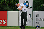 Richard Finch (ENG) tees off on the 1st tee to start his round during of Day 3 of the BMW International Open at Golf Club Munchen Eichenried, Germany, 25th June 2011 (Photo Eoin Clarke/www.golffile.ie)