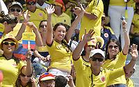 BARRANQUIILLA -COLOMBIA-06-09-2013. Aspecto del partido entre Colombia y Ecuador válido para la clasificación a la Copa Mundo FIFA 2014 Brasil jugado en el estadio Metropolitano Roberto Melendez en Barranquilla./  Aspect of the match between Colombia and Ecuador valid for the qualifier to 2014 FIFA World Cup Brazil played at Metropolitan stadium Roberto Melendez in Barranquilla.  Photo: VizzorImage/Gabriel Aponte/STR