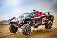 31st December 2020, Jeddah, Saudi Arabian. The vehicle and river shakedown for the 2021 Dakar Rally in Jeddah;   308 Serradori Mathieu fra, Lurquin Fabian bel, Century, SRT Racing, Motul, Auto, action during the shakedown of the Dakar 2021 in Jeddah