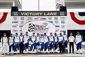 Winner #10: Alex Palou, Chip Ganassi Racing Honda,  podium, team
