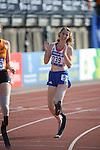 IPC European Athletics Championship 2014<br /> Amelie-Marie Le Fur (FRA)<br /> Women's 400m T44<br /> Swansea University<br /> <br /> 21.08.14<br /> ©Steve Pope-SPORTINGWALES
